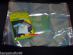51015 pcs KORJO Lrg Resealable Travel Luggage Packing Cloth Shoes Storage Bags