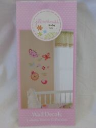 New Jill Mcdonald Lullaby Breeze Collection Wall Decals 4 Sheets 10x18 New
