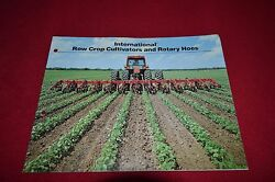 International Harvester Cultivators And Rotary Hoes Dealer's Brochure Tein