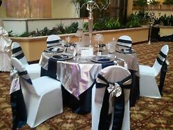 25 Tissue Lame 60x60 Square Table Overlays Made Usa Overlay For Tablecloth