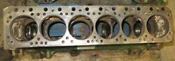 Oliver Ol Engine Block Good Used 185220 6 Cyl Diesel Late 77 Early 770