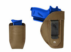 New Barsony Olive Drab IWB Holster + Mag Pouch Ruger Kel-Tec MiniPocket 22 380