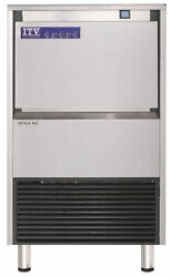 Itv Spika Ng 125a1f 143 Lb Commercial Under Counter Ice Maker Machine With Bin