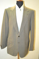 New Brioni Suit 100 Wool 40 Us 50 Eu Made In Italy 2 Btn E.