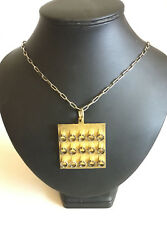 Bent Exner Gilded Sterling Silver Pendant From 1979