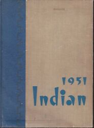 Anderson Senior High School Indiana 1951 Indian Yearbook Annual Hs