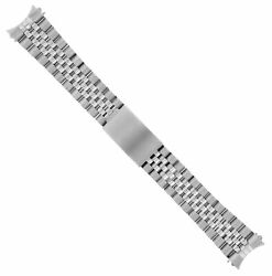 19mm Jubilee Watch Band Bracelet For Rolex Air King 1500 5500 Heavy Stainless