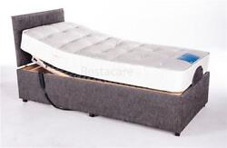 3ft6 Single Adjustable Electric Bed Heavy Duty To 33 Stone Free Install 5yr Wty