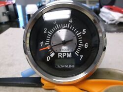 New Oem Crownline Boat Teleflex 7000 Rpm Tach Tachometer With Hour Meter 50061