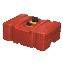 Portable Fuel Tank Gas Can 12 Gallon Storage Marine Boat Gasoline Low Container