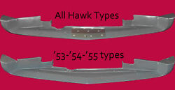 Studebaker Coupe/hawke Lower Air Deflector Under Front Bumper Air Scoop1953-55