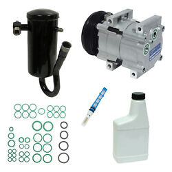New A/c Compressor And Component Kit For F-150 F-250 F-350