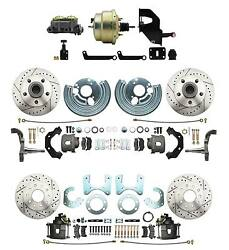Mopar A, B, E Body Performance Power, Front And Rear Disc Brake Conversion Package