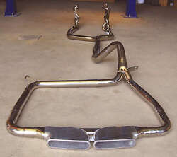 98-02 For Camaro New Catback Exhaust Headers + Ypipe + Cme Ls1 Stainless Steel