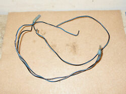 1965 1966 Mustang Cpe Gt Shelby Lh Door Jamb Switch + Courtesy Light Wiring Plug