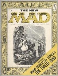 Mad 25 September 1955 Fn 2nd Magazine-sized Issue
