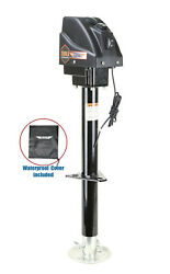 3500lbs Electric Power Tongue Jack For Rv Trailer And Camper W/waterproof Cover