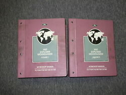 1997 Ford Explorer & Mercury Mountaineer Service Shop Repair Manual Set W PCED