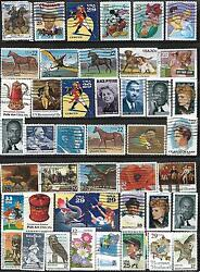 US collection mix Sc #2098 -20¢ Beagle & Terrie  stamps 41¢ #3069 -32¢ Georgia