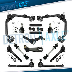 14pc 2wd Front Control Arm Tierod Suspension Kit For Ford F-150 F-250 Expedition