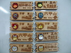 Cute Magnets With Japanese Name Engraving Service 3pcs/set