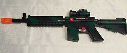 toy machine gun m16 military army soldier