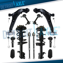 12pc Front Lower Control Arm Strut For 2000 2001 Infiniti I30 Nissan Maxima