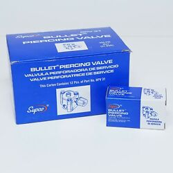Bpv31-12 Pack Supco Bullet Piercing Valve For 1/4 5/16 And 3/8 Tubing 3-n-1