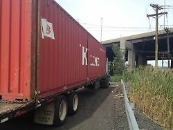 40' shipping container storage container conex box in Cleveland OH