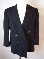 Nino Cerruti Rue Royals Casual One Button Down Wool Blazer Suit Jacket Menand039s