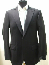 New  Pal Zileri Blue Suit 100 Wool Size 42 R Us 52 R Eu Made In Italy 2btn