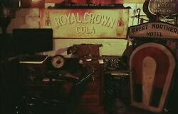 Vintage Royal Crown Cola Sign 1950and039s 53x18