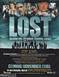 LOST SEASON 1 ULTRA MASTER SET AUTOGRAPHS COSTUMES PIECEWORKS REDEMPTIONS BONUS