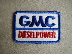 Gmc Diesel Power Embroidered Patch Chevrolet Trucks Jacket Vest Racing Suits