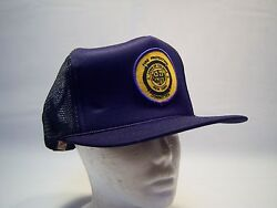 Vintage Colonie Ny Fire Dept. Committee Trucker Hat Men's One Size Fits All