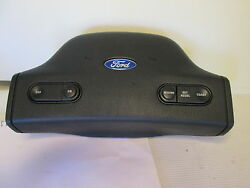 91-96 Ford Escort Steering Wheel Horn Pad Cover Whit Cruise Control New