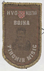 Croatia Army - Hvo - Battalion Tihomir Misic, Mostar - Extremely Rare Patch