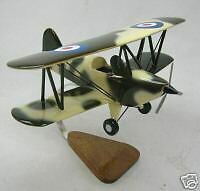 Fisher Fp-404 Airplane Desktop Kiln Dried Wood Model Free Shipping Large New