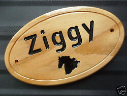 Custom Personalized Horse Name Wall Plaque Stable Barn Shed Sign - Finished Oak