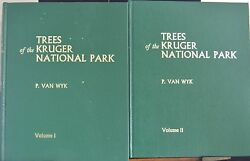 P.van Wyk Trees Of The Kruger National Park South Africa Vol 1 And 2 1st Edt 1972