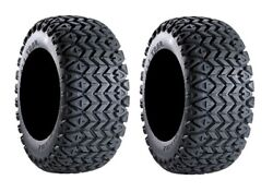 Pair of Carlisle All Trail (4ply) ATV Tires 22x11-10 (2)