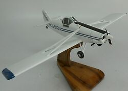 Pa-25-235 Piper Pawnee Pa25 Airplane Desk Wood Model Small New