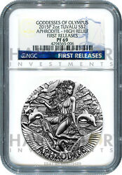 2015 Goddesses Of Olympus Aphrodite - Ngc Pf69 First Releases - Only 25 Exist
