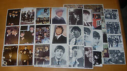 Topps The Beatles Trading Cards Lot Of 60 From Different Series Color B/w