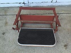 Vintage Airstream Fold In Side Step Rv Camper Travel Trailer Parts