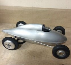 tether car belly tank lakester hot rod