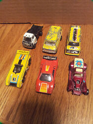 1970s zylmex 1 64 scale lot of 7 vehicles