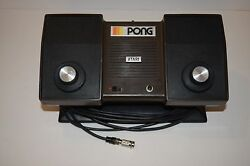 atari pong model c 100 video game system
