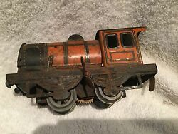 classic wind up tin plate toy train