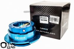 Nrg Steering Wheel Quick Release 2.5 New Blue Body And New Blue Ring Srk-250nb